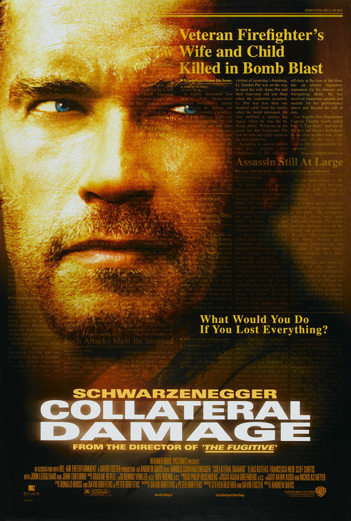 Collateral Damage Poster 01