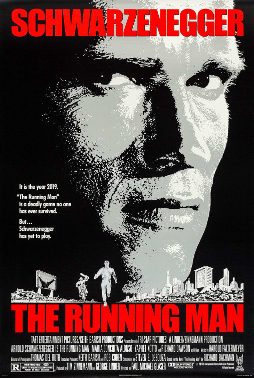The Running Man Poster 01